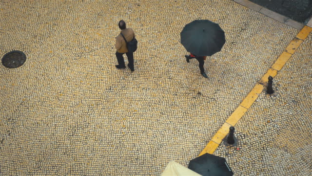 Video von regnerischen Tag in 4 K