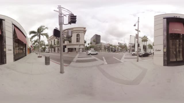 VR video of LA's Rodeo Drive