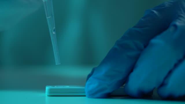 covid-19のためのcdc研究所で働く科学者の4kビデオ - 化学者点の映像素材/bロール