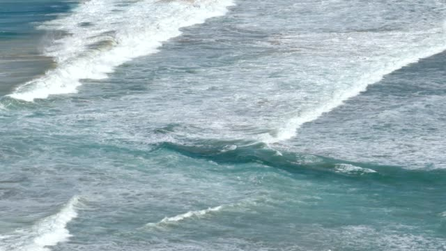 4k video of south pacific ocean white-crested surf wave motion sydney region, south coast, nsw, australia, stock video - south pacific ocean stock videos and b-roll footage
