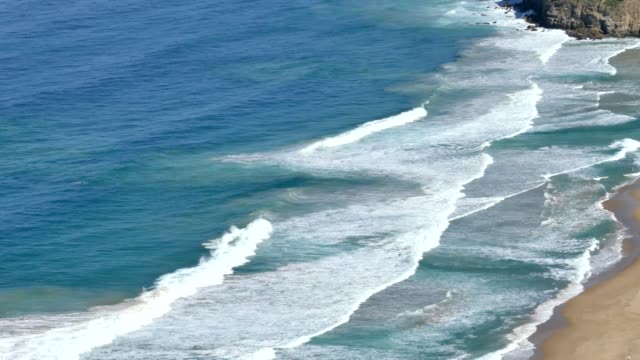 4k video of south pacific ocean white-crested surf wave motion sydney region, south coast, nsw, australia, stock video - south pacific ocean stock videos & royalty-free footage