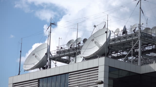 video of television broadcasting station in 4k - air traffic control tower stock videos and b-roll footage