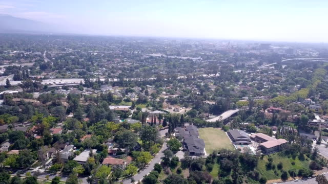 4K video of the city of Pasadena California