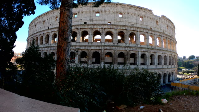 4K video of the Colosseum in Rome