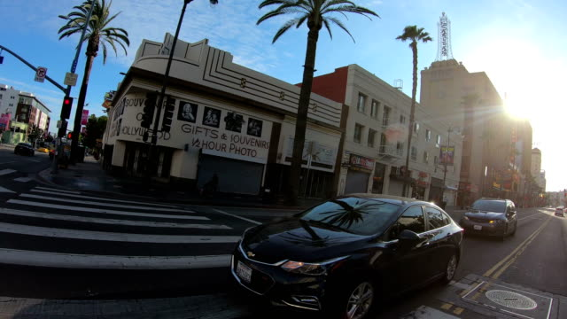 4k video of the empty hollywood streets - the dolby theatre stock videos & royalty-free footage