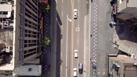 vídeos y material grabado en eventos de stock de vídeo 4k del paseo de la fama de hollywood durante la pandemia - paseo de la fama