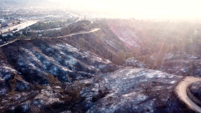 4k video of the wildfire in california - ventura stock videos and b-roll footage