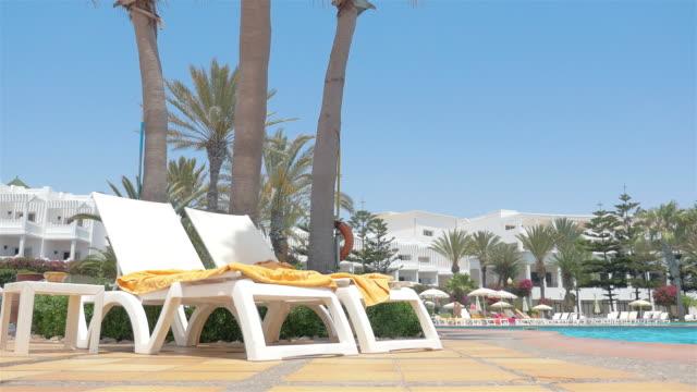 video of tropical resort in 4k - towel stock videos & royalty-free footage