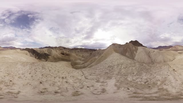 vr video of zabriskie point death valley california - zabriskie point stock videos & royalty-free footage