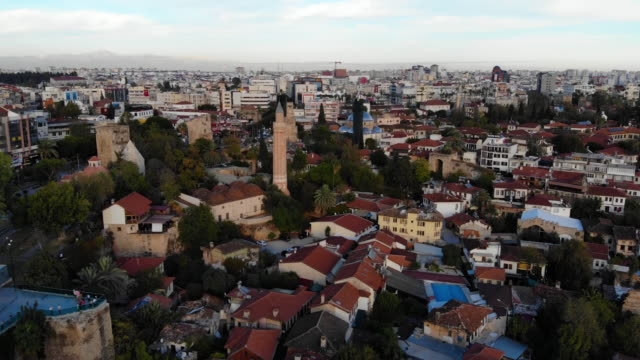 video, old town (kaleici) antalya - ozgurdonmaz stock videos and b-roll footage