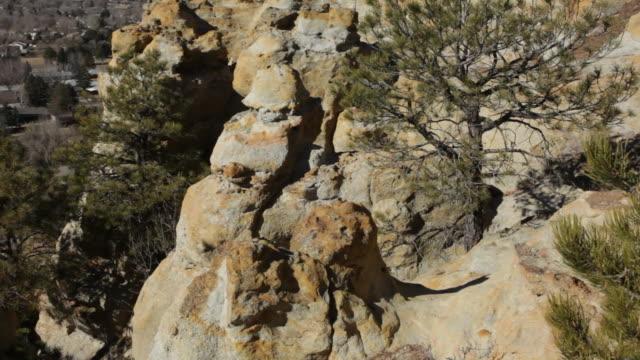 HD video Pikes Peak and Colorado Springs