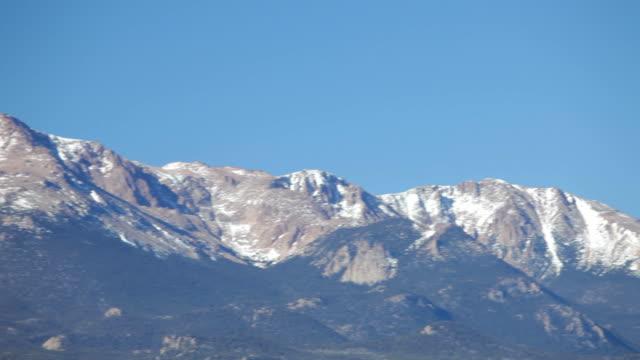 HD video Pikes Peak Colorado