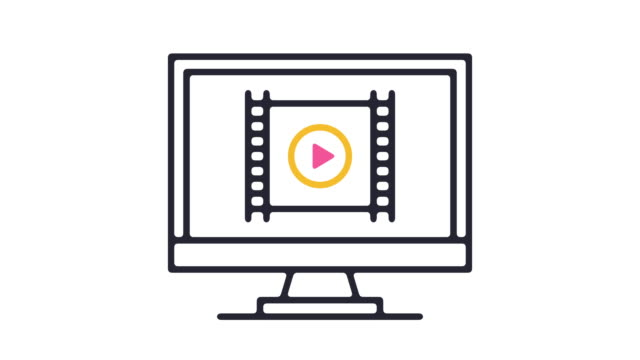 video player icon animation - vcr stock videos and b-roll footage