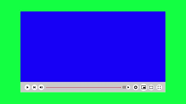 vidéos et rushes de mouvement de lecteur vidéo 4k sur l'écran vert - vidéo
