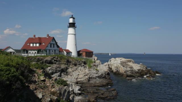 HD-video Portland Head Lighthouse, Maine