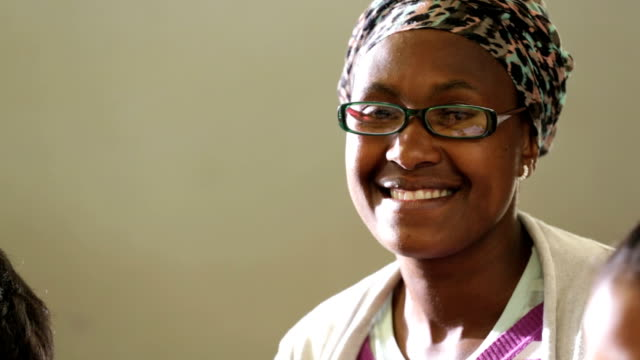 Video Portrait of an African Teacher