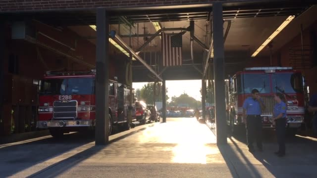video shot of the before ceremony wide shots 9/11 memorial in sherman oaks september 11 2016 video recorded by bryan lovato - sherman oaks stock videos & royalty-free footage