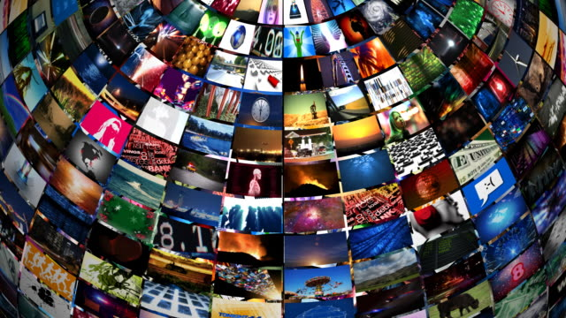 video sphere - video wall stock videos & royalty-free footage