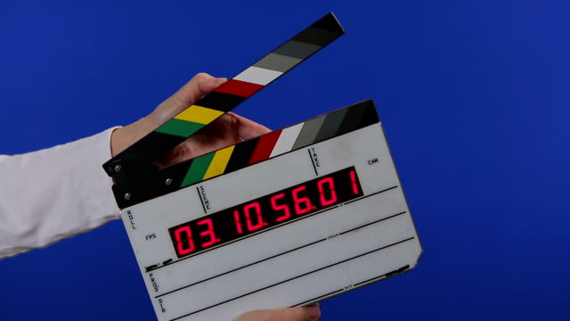 video time code slate chroma key - add your name - slate rock stock videos and b-roll footage