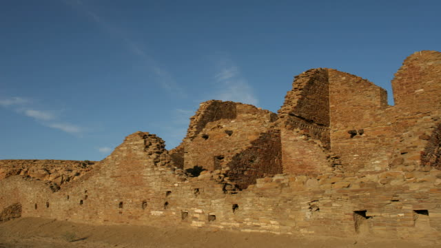 hd video time lapse ancient ruins chaco canyon nhp - chaco canyon stock videos & royalty-free footage