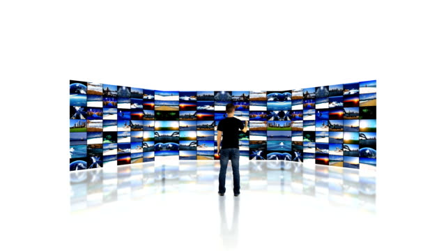 video wall and media - cable tv stock videos and b-roll footage