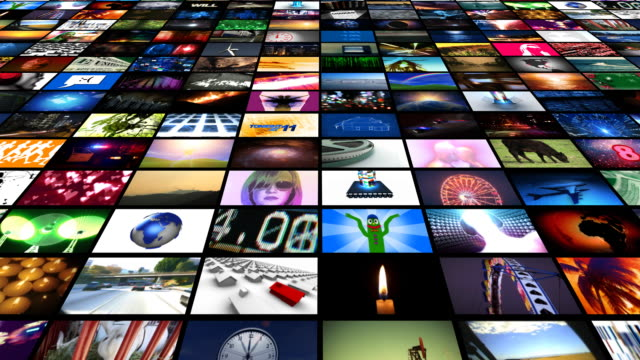video wall in motion - creativity stock videos & royalty-free footage