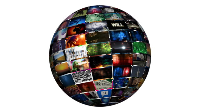 video wall sphere - video wall stock videos & royalty-free footage