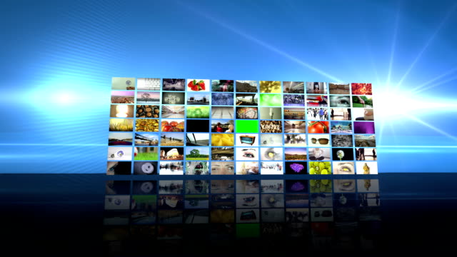 video wall transition. hd - bandwidth stock videos & royalty-free footage