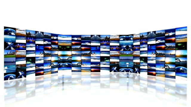 video wall - cable tv stock videos and b-roll footage