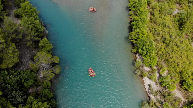4k video, white water rafting - ozgurdonmaz stock videos and b-roll footage