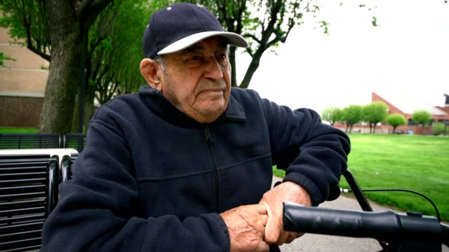 videoportrait of 90-years-old senior man - over 80 stock videos and b-roll footage