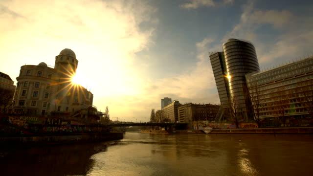 Vienna bij zonsondergang, Time Lapse