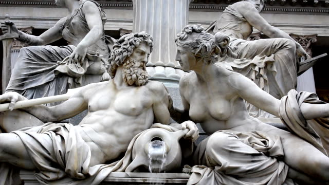 vienna, austria (hd) - sculpture stock videos & royalty-free footage