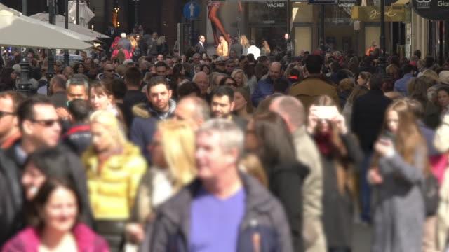 vienna city, time lapse - austria stock videos & royalty-free footage