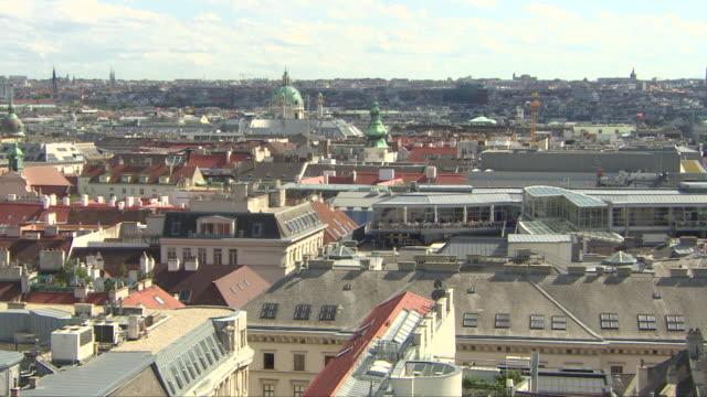 vienna (austria) from above - カールスプラッツ点の映像素材/bロール