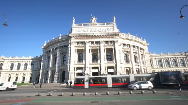 vienna staatsoper - vienna austria stock videos & royalty-free footage