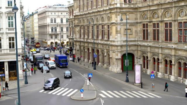 Wiener Straße Szene, Zeitraffer