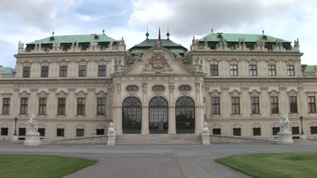 ViennaView of Belvedere Castle in Vienna Austria