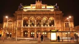 Viennese Opera House, Vienna, Austria.