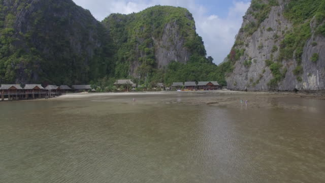 vietnam halong bay - halong bay stock videos and b-roll footage