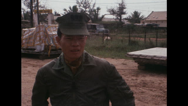 Vietnamese senator Tran Van Don arrives at Quang Nai province to investigate the My Lai massacre
