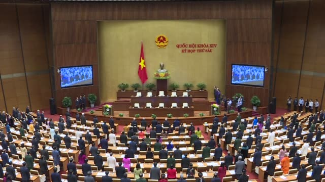 Vietnam's National Assembly the country's rubber stamp parliament opens its autumn session during which the lawmakers are expected to swear in new...