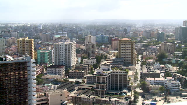 view across dar es salaam, tanzania - tanzania stock videos & royalty-free footage