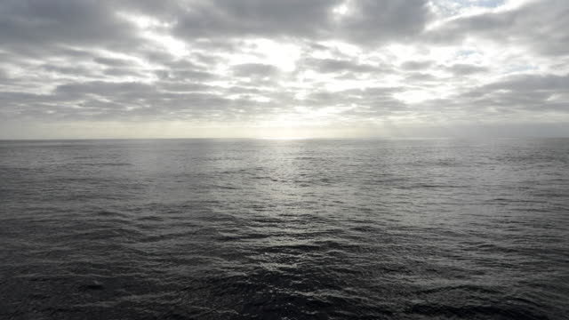 view across open ocean from moving boat - eternity stock videos & royalty-free footage