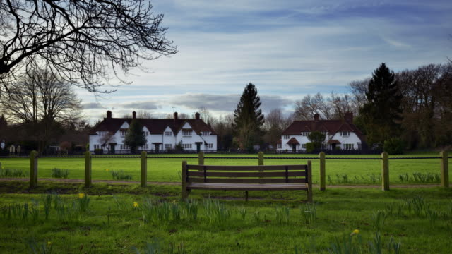 A view across the village green in Aldenham