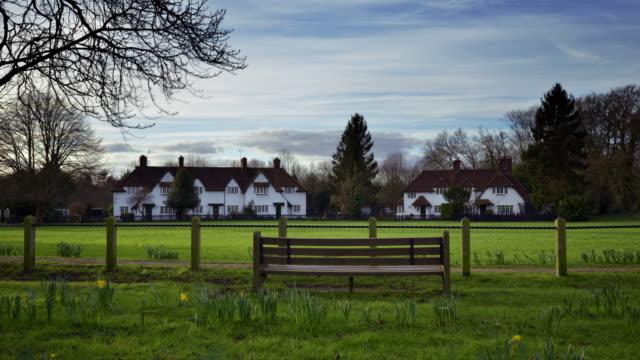 A view across the village green in Aldenham