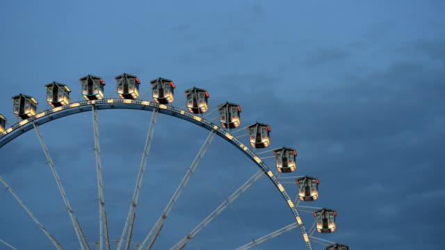 View at a ferris wheel