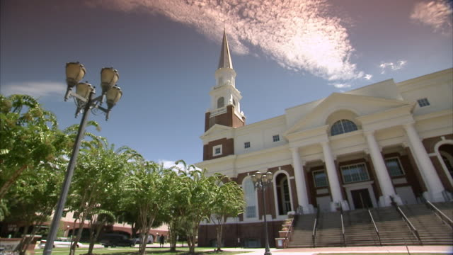ms view baptist church / usa - baptist stock videos & royalty-free footage