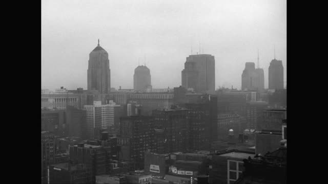 ws view chicago skyline / chicago, illinois, united states - 1955 stock videos and b-roll footage
