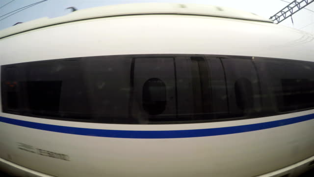 view form interior of high speed rail/shanghai,china - high speed train stock videos & royalty-free footage